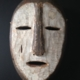 Masker hout 'White face' H24 | B15