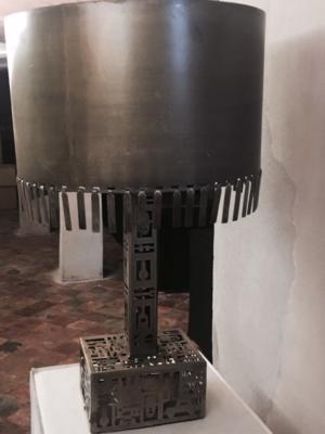 Tafellamp metaal uniek stuk H67 | B40