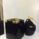 IJsemmer uit de Thurnwald Collectie, zwart & messing met ijstang H18 | B14