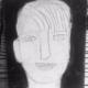 Schilderij portret '2000' Hetty Franken